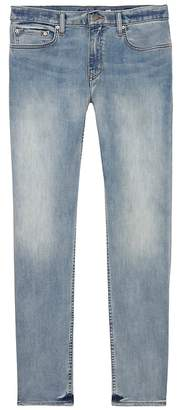Banana Republic Skinny Rapid Movement Denim Light Wash Jean
