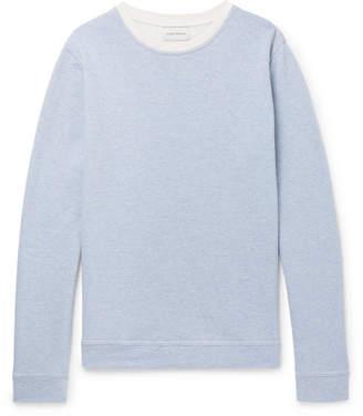 Oliver Spencer Robin Striped Loopback Cotton-Jersey Sweatshirt