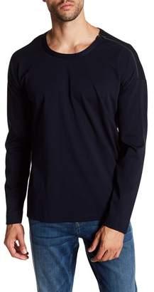 Quinn Hi-Lo Shoulder Zip Pullover Sweater