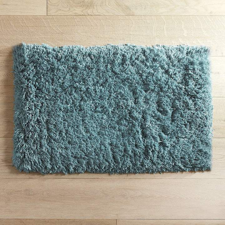 Cloud Step Memory Foam Teal 27x45 Bath Rug