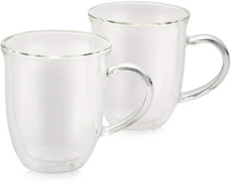 Bonjour 2-Pc. Glass Cappuccino Cup Set