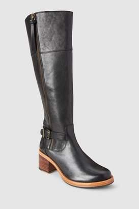 Next Womens Clarks Clarkdale Sona Buckle Zip Long Boot