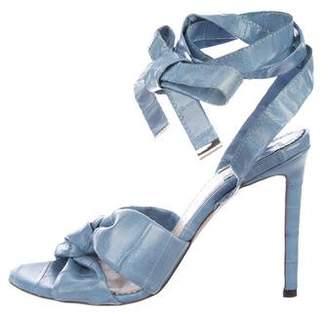 Altuzarra Zuni Eelskin Sandals