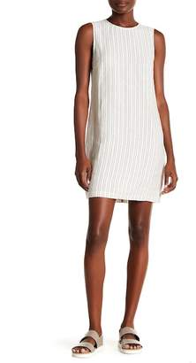 Theory Adraya Narrow Stripe Linen Dress