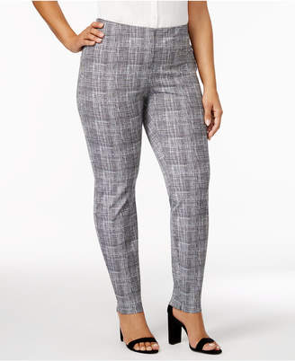 5a5133d399d at Macy s · Alfani Plus Size Bi-Stretch Hollywood Printed Skinny Pants