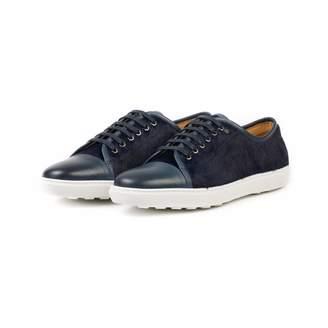 Donhall & Bell - Redchurch Calf Hair Luxury Sneaker Navy
