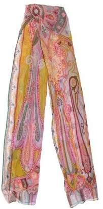 Etro Silk Paisley Scarf