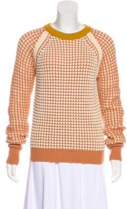 Chloé Virgin Wool Textured Sweater