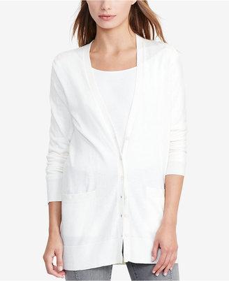 Lauren Ralph Lauren V-Neck Cardigan $89.50 thestylecure.com