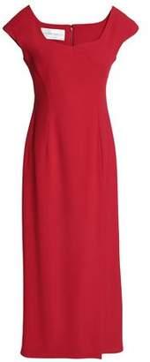 Alberta Ferretti Crepe Midi Dress