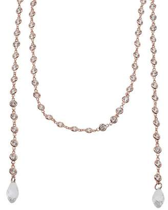 Kenneth Jay Lane CZ By CZ By The Yard Lariat Necklace