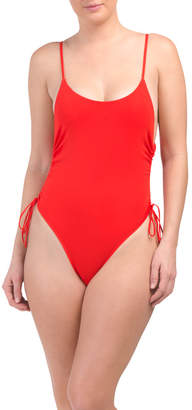 Side Lace One-piece Swimsuit
