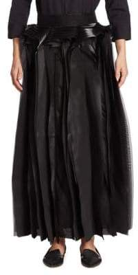 Noir Kei Ninomiya Layered Maxi Skirt