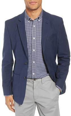 Nordstrom Washed Stretch Cotton Blazer