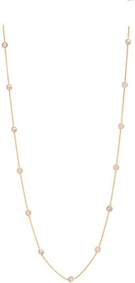 Tresor Collection Organic Diamond Necklace In 18K Yellow Gold