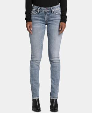 Silver Jeans Co. Suki Straight-Leg Jeans
