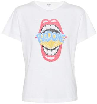RE/DONE Printed cotton T-shirt