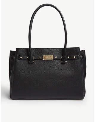 MICHAEL Michael Kors Michael Kors Black Addison Leather Tote Bag