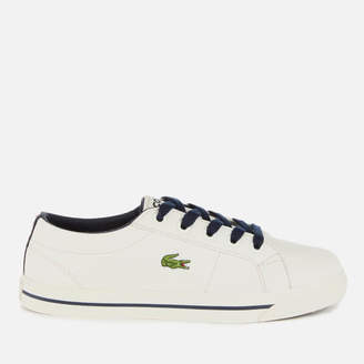 2e5aa58c955c Lacoste Kids  Riberac 119 2 Low Top Trainers - Off White Navy