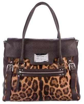 Dolce & Gabbana Ponyhair Miss Easy Bag