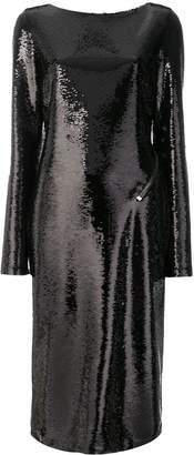 Tom Ford backless sequinned dress