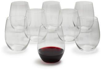 Riedel O Merlot Stemless Wine Glasses