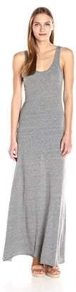 Alternative Women's Eco Jersey Double Scoop Tank Dress, Grey, L