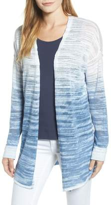 Nic+Zoe Open Breeze Linen Cotton Ombr? Cardigan (Regular & Petite)