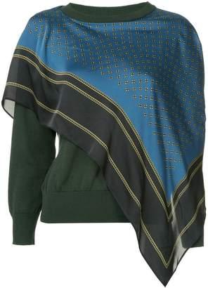 Puma Maison Yasuhiro layered sweater