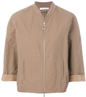 Fabiana Filippi boxy bomber jacket