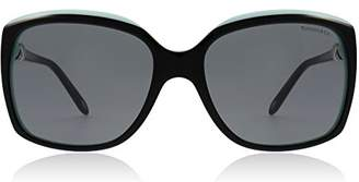 Tiffany & Co. Women's TF4076-80553F- Black Square Sunglasses