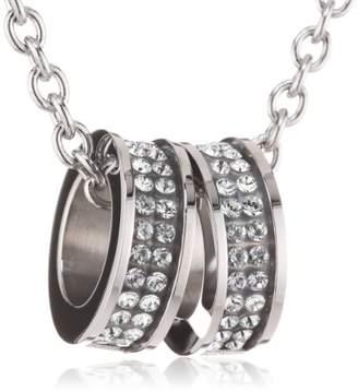 Dyrberg/Kern 333819 Swarovski Crystal 50.0 centimetres Steel Necklace