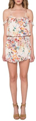 Women's Willow & Clay Ruffle Romper $89 thestylecure.com
