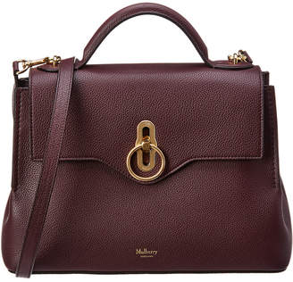At Rue La Mulberry Small Seaton Leather Satchel