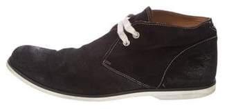 John Varvatos Distressed Suede Chukka Boots