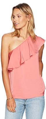 Paris Sunday Women's One Shoulder Tank Top