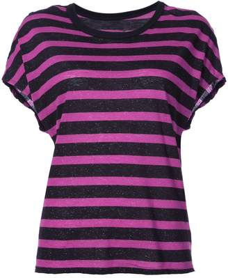RtA Striped Short Sleeve T-Shirt