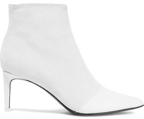 Rag & Bone Beha Leather-Paneled Suede Ankle Boots