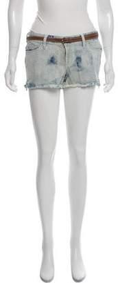 Michael Kors Mid-Rise Denim Shorts w/ Tags