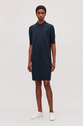 Cos TOWELLING POLO SHIRT DRESS