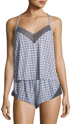 Cosabella Sweet Dreams Geometric-Print Camisole