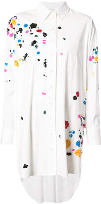 Oscar de la Renta embroidered tunic