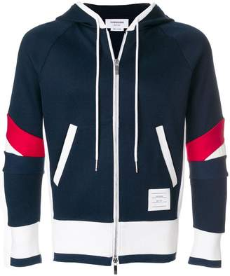 Thom Browne Articulated Chunky Jersey Hoodie