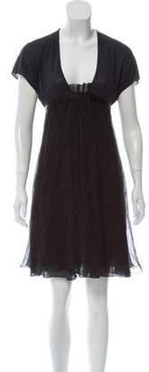 Stella McCartney Short Sleeve Midi Dress