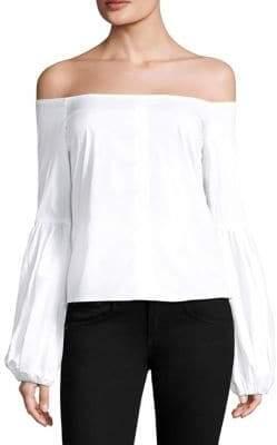 Caroline Constas Giselle Off-The-Shoulder Top