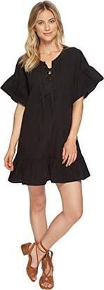 Lucky Brand Women's Lace up Dress