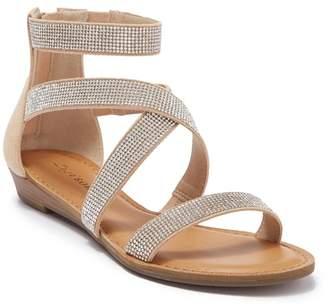 Ziginy Marvela Criss Rhinestone Sandal