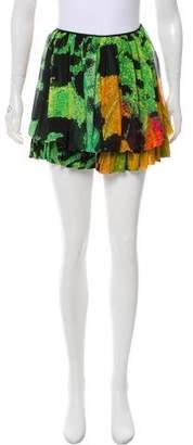 Vivienne Tam Silk Printed Skirt w/ Tags