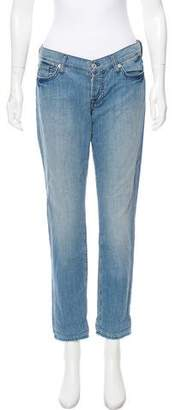 7 For All Mankind Seven Lightweight Mid-Rise Jeans w/ Tags