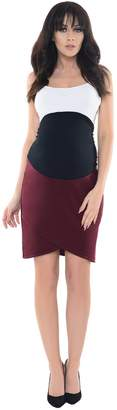 Purpless Maternity Pregnancy Formal Tulip Skirt 1512